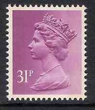 GB 1986 sg X919 31p Purple 2 bands British Rail booklet stamp MNH