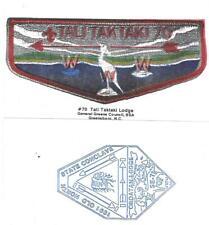 1991 Tali TakTaki Lodge Game Card SE-7 Section Conclave North Carolina Boy Scout
