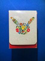 Pokemon Center 20th Anniversary Deck Box Sealed 2016 Pikachu Charmander Torchic