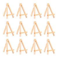 DIY 10PCS Picture Photo Art Plastic Practical Display Stand Easel Plate Holder