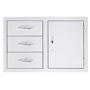 SUMMERSET DOOR & THREE DRAWER COMBO #SSDC3-33