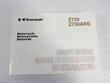 Original Kawasaki Z 750 ABS ZR 750 LB/MB Betriebsanleitung GB, FR, DE 99976-1613