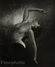 1938 Vintage FEMALE NUDE Woman England ART DECO Large Photo Gravure, WALTER BIRD