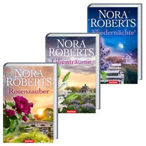 Blüten-Trilogie: Rosenzauber / Lilienträume / Fliedernächte - Nora Roberts [Gebu