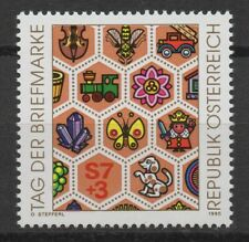 Austria 1990 Sc# B356 Mint MNH Stamp day hexagon hive toy pet car train stamp