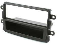 Radioblende Dacia Duster Lodgy Sandero ab 2012 Autoradio Blende Rahmen schwarz