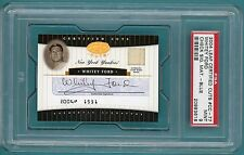 2004 Leaf Certified Cuts Whitey Ford Auto Issue - #CC-77 PSA 9! Yankees! POP 1!