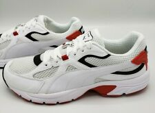 Puma Axis Plus 90s Running Shoes Black Red White Sneaker Men's Size 6