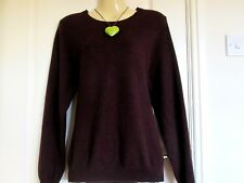 MARKS AND SPENCER 'AUTOGRAPH' LADIES LONG SLEEVED 100% CASHMERE JUMPER - SIZE 20