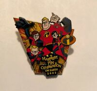Incredibles Walt Disney World Happiest Pin Celebration On Earth 2005 Mr Mrs Jack