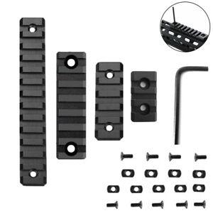 4 Pack M-LOK Aluminum 3 Slot 5 Slot 7 slot 13 Slot Rail Section Picatinny Weaver