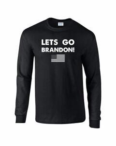725 Lets Go Brandon Long Sleeve Joe Biden election republican conservative new