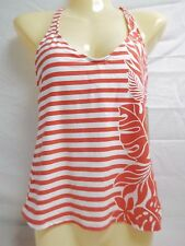Beach House Size 6 Coral Racerback Floral New Womens Tankini Top Swimwear