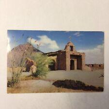 Old Adobe Church Postmark Tucson Arizona 1952 Posted Postcard