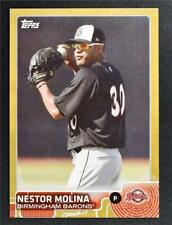 2015 Topps Pro Debut Gold #124 Nestor Molina - NM-MT