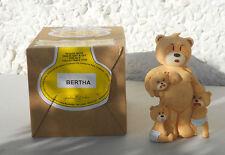Bad Taste Bears Bertha 2.ter Clubbär Neu in Yellow Label Box Mutter mit 3 Kinder