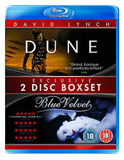 Dune/Blue Velvet Boxset (Blu-ray) (NEW AND SEALED) (REGION 2)