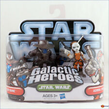 Star Wars Galactic Heroes Cad Bane and Aurra Sing The Clone Wars - 2 figure pack