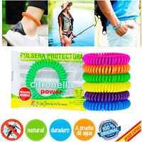 PULSERA PULSERAS ANTIMOSQUITOS REPELENTE ANTI MOSQUITOS ORIGINAL NATURAL DURABLE
