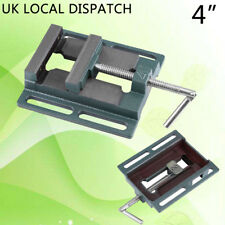 """100mm 4"""" Drill Press Bench Pillar Vice Work Wood Clamp Cast Iron Fast Shipping"""