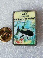 Pin's Pins Tintin et Milou bd Hergé comic strip le trésor de Rackham le Rouge