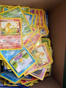 Pokemon Karten Base Set Konvolut Holo Sammlung Glumanda Bisasam Pokémon