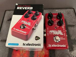 Pédale de guitare Reverb HALL OF FAME TC Electronic