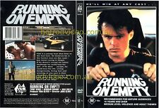 RUNNING ON EMPTY  DVD  Hot rods custom street muscle car movie