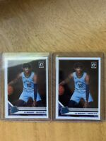 2019-20 Panini Donruss Optic Rated Rookie Ja Morant #168 Lot Of 2 RC GRIZZLIES