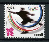 Estonia 2012 MNH London 2012 Olympic Summer Games 1v Set Olympics Sports Stamps