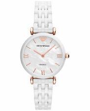 New Emporio Armani AR1486 Ladies Ceramic Watch