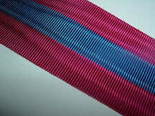 MEDAL RIBBON-GOOD QUALITY FRENCH/FRANCE NATIONAL DEFENCE MEDAL 3rd CLASS RIBBON`