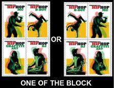 2020 US STAMP - HIP HOP - BLOCK OF 4 - SCOTT# 5480 - 5483