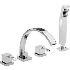 Sagittarius Single Lever 4 Hole Bathroom Taps