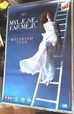 MYLENE FARMER VERITABLE AFFICHE CONCERT format environ 78 x 120 cm MYLENIUM TOUR