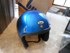 NOS Vintage Buco Helmet Candy Blue Small Model 1751-1 Retro AHRMA Vespa