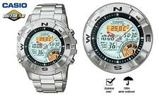 Stainless Steel Band Wristwatches with 12-Hour Dial