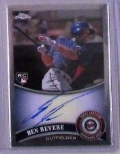BEN REVERE 2011 TOPPS CHROME ROOKIE AUTO CARD MINNESOTA TWINS Autograph RC