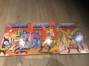 He Man And The Masters Of The Universe Annual x3 1985/86/87