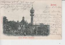 AK Barmen, Barmer Anlagen: Thurmbahn, 1901