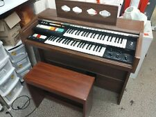 More details for vintage national electric retro organ 88 keys with matching stool - cis b85