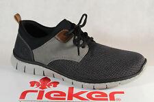 Rieker Men's Slipper Shoes Sneakers Trainers Grey/Black B8764 New