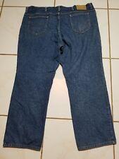 USA MADE Lee Dungaree Jeans Premium Blue Denim Pants Distressed* 46x30 B1090