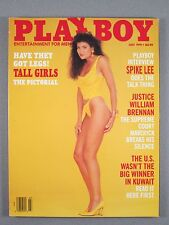 PLAYBOY July 1991 Tall Girls/William Brennan/Eric Bogosian/Gulf War/Spike Lee