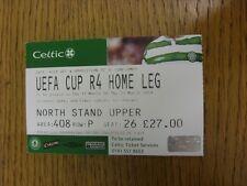 11/03/2004 Ticket: Celtic v Barcelona [UEFA Cup] Ticket States Two Dates 11/03 O