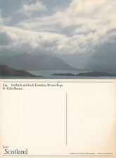 1990's LIATHACH & LOCH TORRIDON WESTER ROSS SCOTLAND OVERSIZED COLOUR POSTCARD