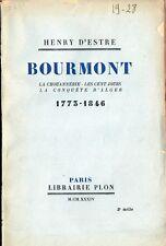 C1 NAPOLEON d Estree BOURMONT 1773 1846 VENDEE Chouan GENERAL EMPIRE Algerie