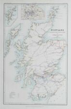 Scotland Lithography Antique Europe Atlas Maps