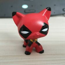 Custom OOAK LPS Mask Hand Painted Figure LITTLEST PET SHOP COSPLAY Deadpool