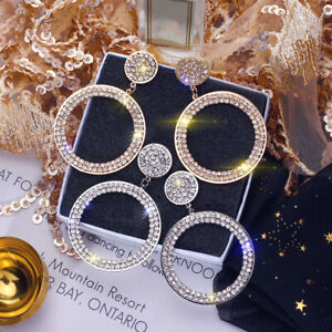 Fashion 925 Silver,Gold,Rose Gold Earrings for Women Jewelry A Pair/set